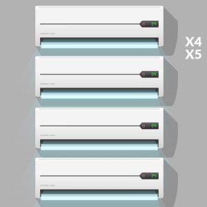 manutenzione condizionatori quadri penta split